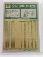 1971 Gordie Howe Topps #70