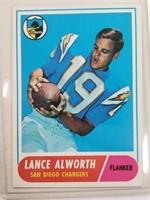 1968 Lance Alworth Topps #193