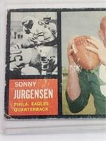1962 Sonny Jurgensen Topps #115