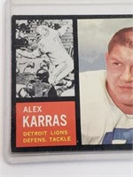 1962 Alex Karras Topps #58