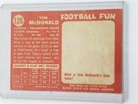 1958 Tom Mcdonald Topps #126