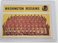 1960 Washington Redskins Topps #132