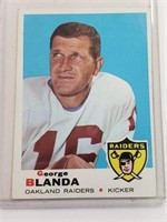 1969 George Blanda Topps #232