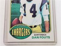 1976 Dan Fouts Topps #128