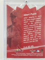 (15) Saint Louis Cardinals 2nd Year Albert Pujols