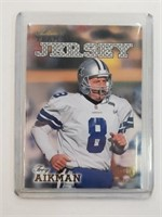 1998 Troy Aikman Play Football Relic Card #R28