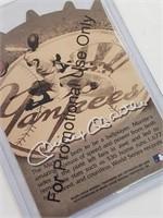 RARE Promo 1997 Mickey Mantle Summary Legend Card