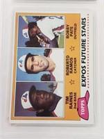 1981 Raines/Ramos/Pate Topps #479 NM-MT+ 8.5