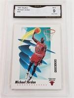 1991 Michael Jordan Skybox #39 MINT 9