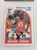 1989 Michael Jordan Hoops #21 All-Star NM-MT 8