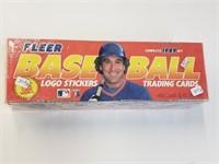 1989 Fleer Baseball Cards Complete Set Sealed