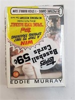 1986 Topps Baseball Card Pack (Eddie Murray)