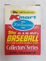 1982 20th Ann. Topps Kmart Baseball Cards