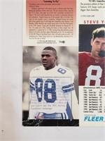 1994 Super Bowl XXVIII Uncut Cards