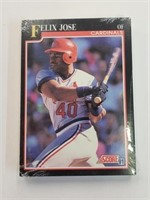 1991 Score Baseball Cards Cardinals Team Set