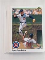1990 Upper Deck Baseball Cards Cubs Team Set