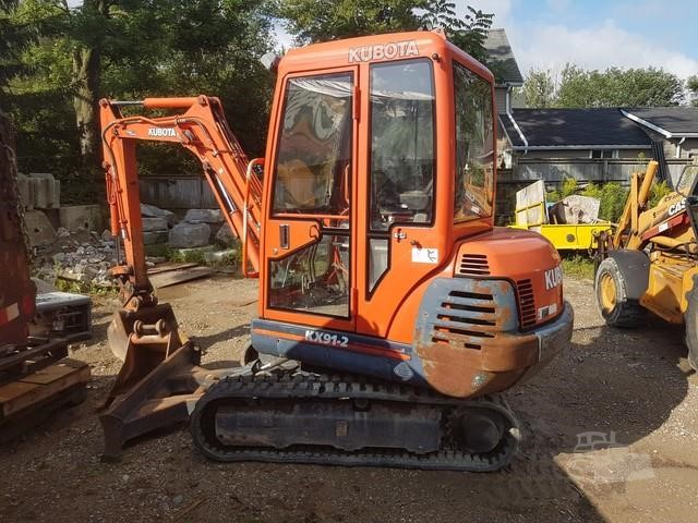 Canadian Cab Guelph >> 2000 Kubota Kx41 2 For Sale In Guelph Ontario Canada