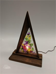 Unusual Triangle Glass Light Other Items For Sale In