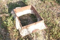 """Iron Storm Drain Insert for 20 x 25"""" Hole."""
