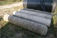 "4pc Concrete Culvert 12"" ID x 8'"