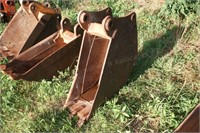 """12"""" x Approx. 4 cu. ft. Backhoe Trenching Bucket"""