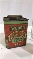 Ink Well, Wood's Tea Tin, Milk Bottle