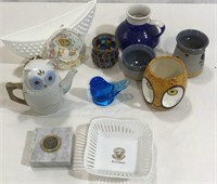 Assorted Glass, 11 Pieces