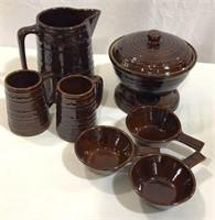 Marcrest Stoneware (9) Pieces
