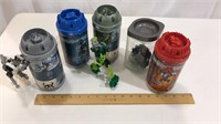 5 Canister LEGO Bionicle Sets