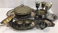 Large Selection of Silver Service