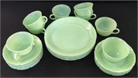 Green Anchor Hocking Glass Ware