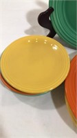 "(5) 9"" Plates, (6) 6"" Saucers"