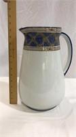 Glass Wash Basin & Pitcher, Vintage Syrup Jars
