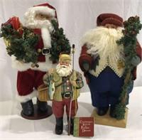 3 Christmas Santas