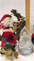 Santa & Blanket, 2 Music Boxes