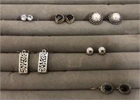 6 Pairs of Earrings