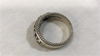 Birthstone Ring; 925 CNA