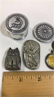 Small Pewter Pieces