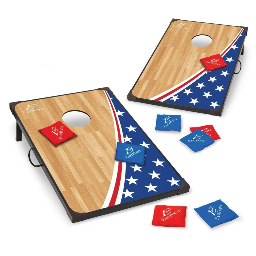 Pleasing Eastpoint Sports Americana Cornhole Game 305 A N B Onthecornerstone Fun Painted Chair Ideas Images Onthecornerstoneorg