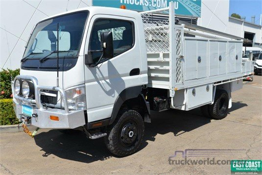 2009 Mitsubishi Canter 4x4|Service Vehicle|Table / Tray Top