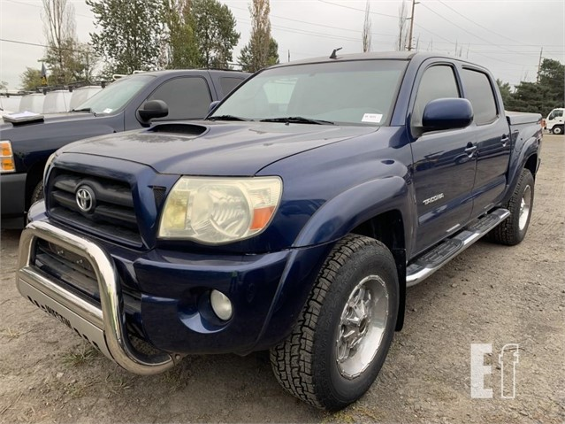 Equipmentfacts Com 2006 Toyota Tacoma Online Auctions