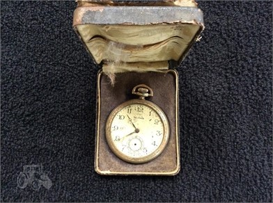 14kt Gold Railroad Pocket Watch Other Items For Sale 1