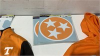 Assorted Tennessee Jackets and Decals-