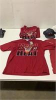 Assorted Miami Heat Apparel-