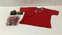 Atlanta Falcons Shirts and Wallets-