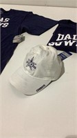 Dallas Cowboys Shirts and Hat-