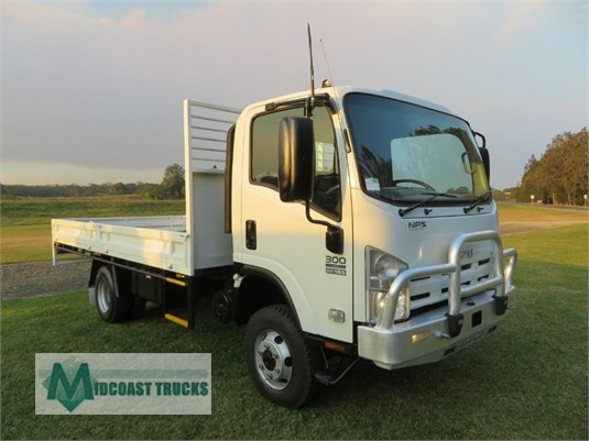 2012 Isuzu NPS 300 4x4 Midcoast Trucks - Trucks for Sale