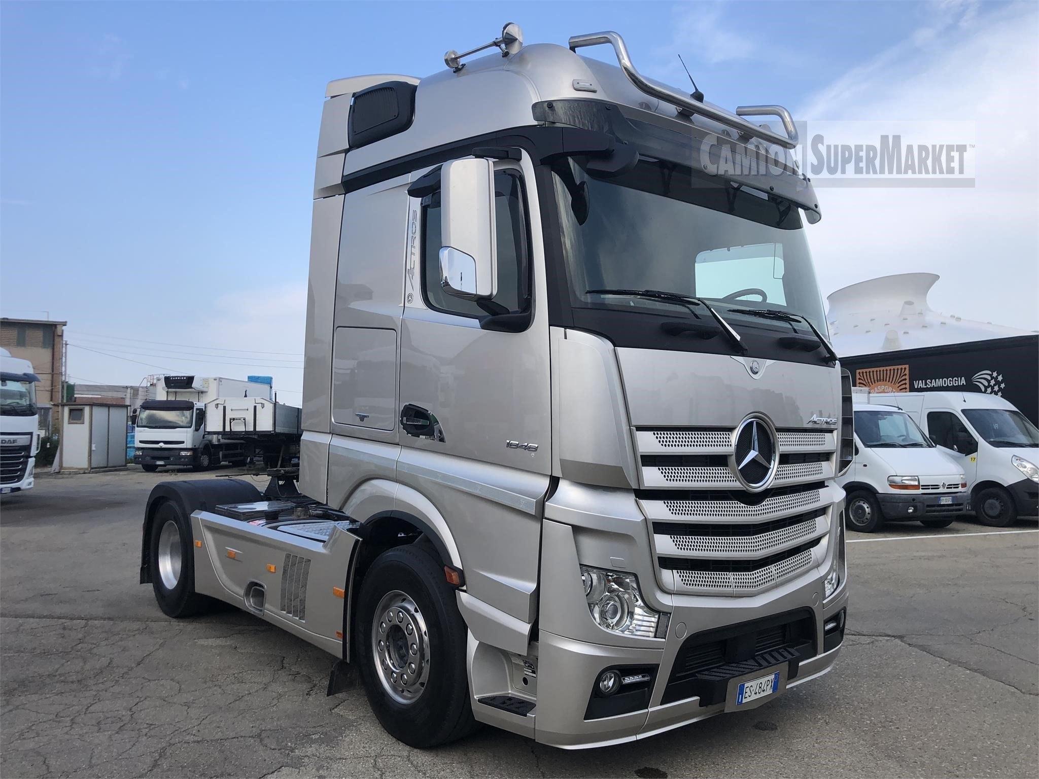 Mercedes-Benz ACTROS 1848 used 2014