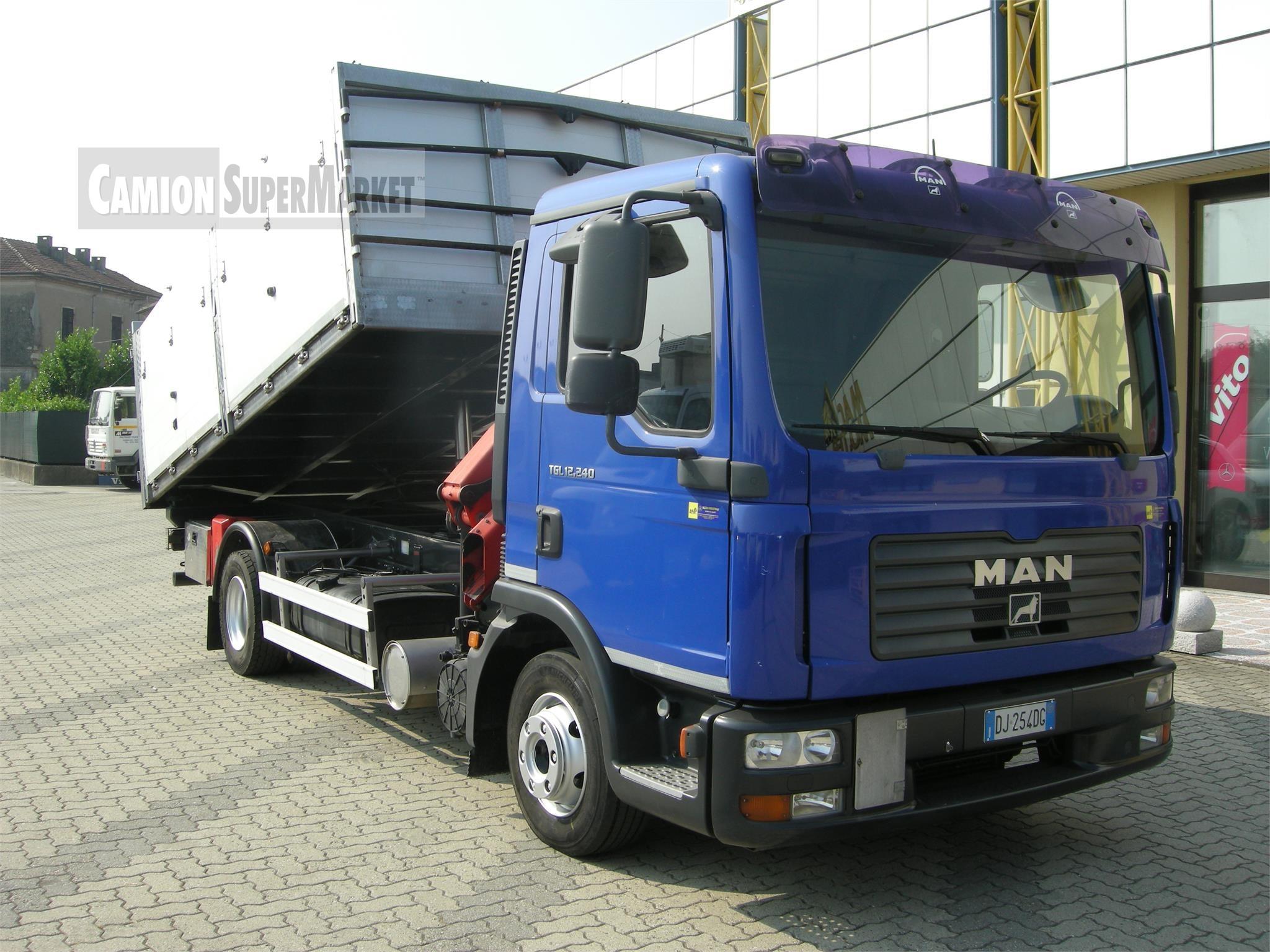 MAN TGL12.240 Uzywany 2007
