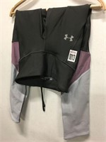 UNDERARMOUR WOMENS LEGGINGS SIZE EXTRA SMALL